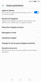 Huawei P Smart - Messagerie vocale - Configuration manuelle - Étape 6