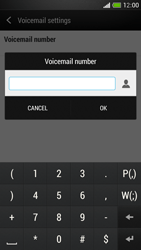 HTC One Mini - Voicemail - Manual configuration - Step 7