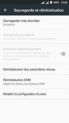 Acer Liquid Z6 Dual SIM - Device maintenance - Retour aux réglages usine - Étape 6