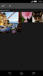 Sony Xperia Z2 - Photos, vidéos, musique - Envoyer une photo via Bluetooth - Étape 6