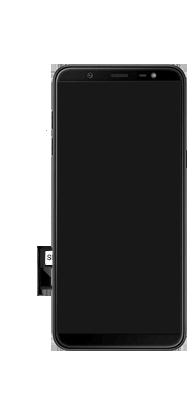 Samsung Galaxy J8 - Primeiros passos - Como inserir o chip da Nextel no seu celular - Etapa 9