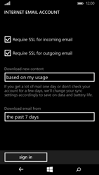 Microsoft Lumia 640 - Email - Manual configuration - Step 19