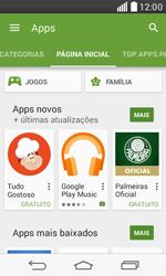 LG D390n F60 - Aplicativos - Como baixar aplicativos - Etapa 5