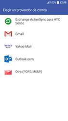 HTC 10 - E-mail - Configurar Outlook.com - Paso 5