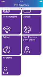 Apple iPhone 6s - Applications - MyProximus - Step 19