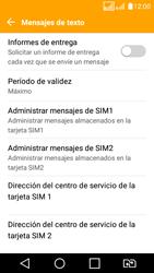 LG K4 (2017) - Mensajería - Configurar el equipo para mensajes de texto - Paso 7