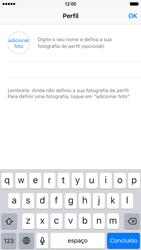 Apple iPhone 6 iOS 9 - Aplicações - Como configurar o WhatsApp -  15