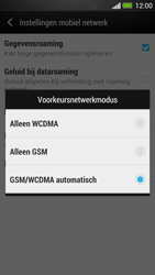 HTC One - Netwerk - Wijzig netwerkmodus - Stap 6