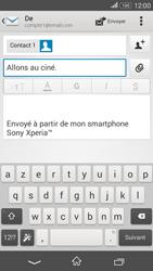 Sony Xperia E4g - E-mails - Envoyer un e-mail - Étape 9