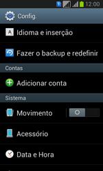 Samsung GT-I8552B Galaxy Win Duos - Funções básicas - Como restaurar as configurações originais do seu aparelho - Etapa 4
