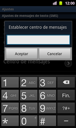 Samsung I8160 Galaxy Ace II - Mensajería - Configurar el equipo para mensajes de texto - Paso 5
