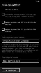 Nokia Lumia 830 - E-mail - Configuration manuelle - Étape 17