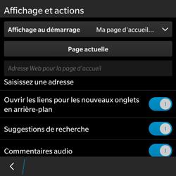 BlackBerry Classic - Internet - Configuration manuelle - Étape 18