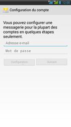 HTC Desire 516 - E-mail - Configuration manuelle - Étape 6