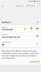 Samsung Galaxy A5 (2017) (A520) - Contact, Appels, SMS/MMS - Ajouter un contact - Étape 10