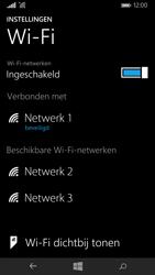 Microsoft Lumia 535 - Wifi - handmatig instellen - Stap 8
