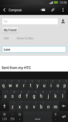 HTC One - Email - Sending an email message - Step 9