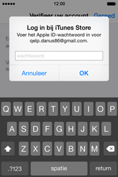Apple iPhone 4s iOS 8 - Applicaties - Account aanmaken - Stap 27