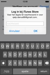 Apple iPhone 4S met iOS 8 (Model A1387) - Applicaties - Account aanmaken - Stap 27