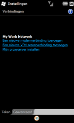 Samsung I8000 Omnia II - Internet - Handmatig instellen WM 6.5 - Stap 6