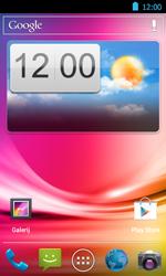 Acer Liquid Glow E330 - E-mail - Handmatig instellen - Stap 1