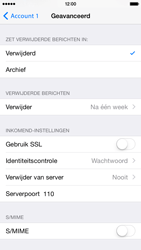 Apple iPhone 6 iOS 8 - E-mail - handmatig instellen - Stap 19