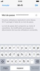 Apple iPhone SE - iOS 11 - Internet et connexion - Partager votre connexion en Wi-Fi - Étape 5