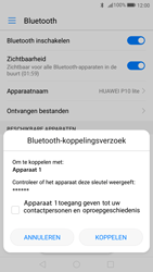 Huawei P10 Lite (Model WAS-LX1A) - Bluetooth - Headset, carkit verbinding - Stap 6