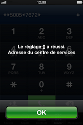 Apple iPhone 4 S - SMS - Configuration manuelle - Étape 7