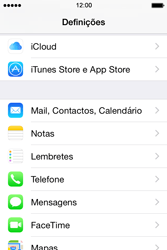 Apple iPhone 4S iOS 8 - Email - Configurar a conta de Email -  4