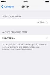 Apple iPhone 4 S iOS 9 - E-mail - Configuration manuelle - Étape 20