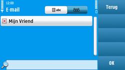 Nokia N97 - E-mail - hoe te versturen - Stap 8