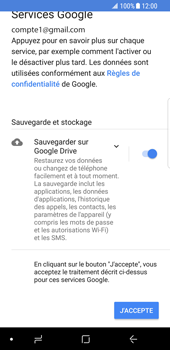 Samsung Galaxy S8 - Android Oreo - E-mail - Configuration manuelle (gmail) - Étape 11