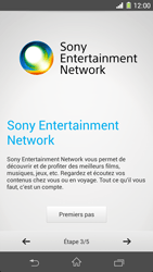 Sony Xpéria Z1 - Premiers pas - Créer un compte - Étape 5
