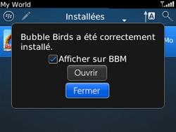 BlackBerry curve 3G - Applications - Télécharger une application - Étape 19