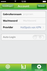 Apple iPhone 4 met iOS 7 - WiFi - KPN Hotspots configureren - Stap 10