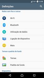 Sony Xperia XZ - Android Nougat - Internet no telemóvel - Ativar 4G -  4