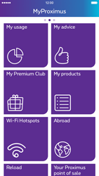 Apple iPhone 6s - Applications - MyProximus - Step 18