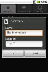 Samsung I7500 Galaxy - Internet - Internet browsing - Step 11