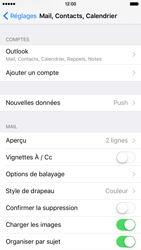 Apple iPhone 6 iOS 9 - E-mail - Configuration manuelle (outlook) - Étape 9