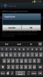 Samsung Galaxy Note 2 - Premiers pas - Configurer l