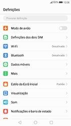 Huawei P8 Lite (2017) - Internet no telemóvel - Como ativar os dados móveis -  3