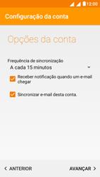 """Alcatel Pixi 4 (5"""") - Email - Configurar a conta de Email -  23"""
