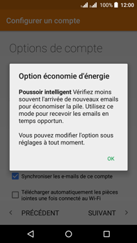 Acer Liquid Z630 - E-mail - Configuration manuelle (outlook) - Étape 9