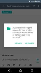 Sony Sony Xperia XA - Contact, Appels, SMS/MMS - Envoyer un MMS - Étape 16