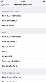 Apple iPhone 7 Plus - iOS 12 - MMS - configuration manuelle - Étape 6