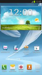 Samsung Galaxy Note II LTE - Internet - Internetverbindung - Automatische Einstellung - Schritt 1