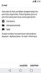 LG K10 (2017) - E-mail - Configurar Outlook.com - Paso 11