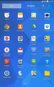Samsung Galaxy Tab4 8.0 4G (SM-T335) - SMS - Handmatig instellen - Stap 3