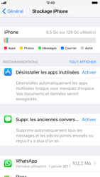 Apple iPhone 6s - iOS 11 - Applications - Supprimer une application - Étape 5